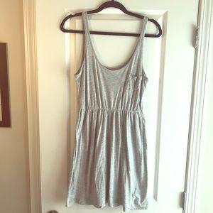 H&M lightweight gray dress